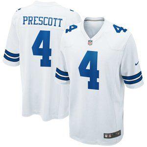 Men's Dallas Cowboys Dak Prescott Nike Jersey 4#